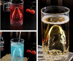 Shark Attack Glass – Just make sure not to stick your finger in it.