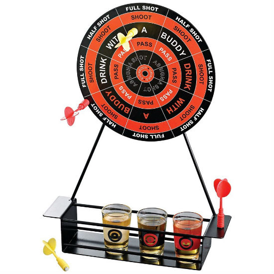 Drinking darts game shut up and take my money for Bar decor amazon