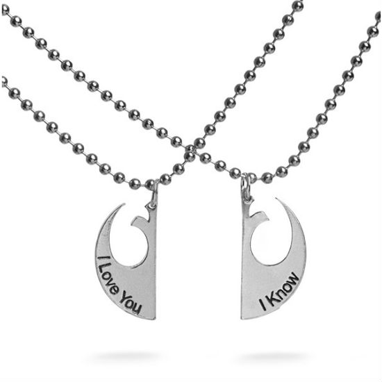i love you i know necklace
