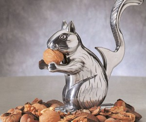 Squirrels are experts at cracking nuts so it only makes sense.
