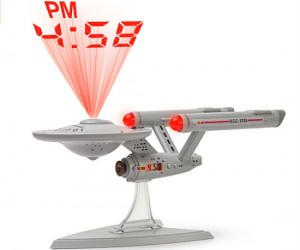 Star Trek Projection Alarm Clock –  Live long and project perfect time.