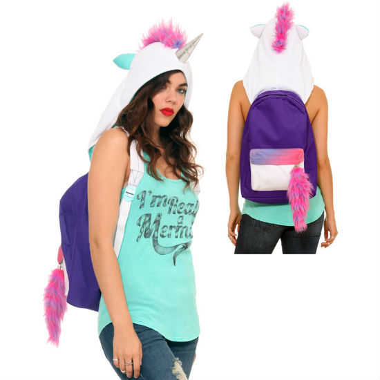 Hooded Unicorn Backpack Shut Up And Take My Money