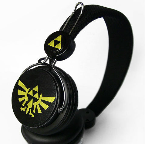 Handpainted Zelda Headphones
