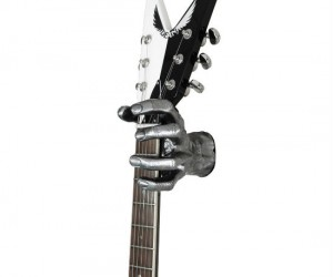 Zombies may not be very smart, but they can hold your guitar for you, so at least they're good for something.