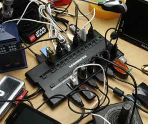 Have around 28 things that need to be plugged in (via usb) at once? Then this is the usb hub for you!