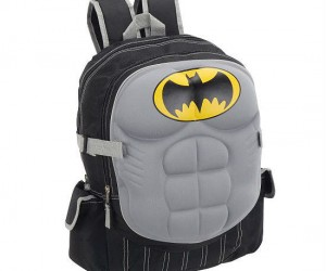 Batman has got your back or at least his chest does!