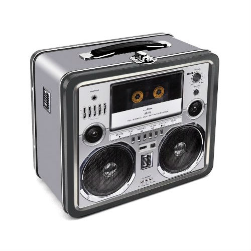Boombox Lunch Box Shut Up And Take My Money