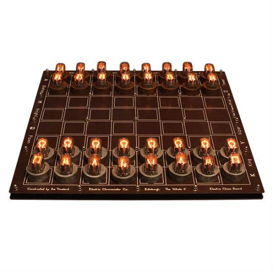 Nixie Tube Chess Set