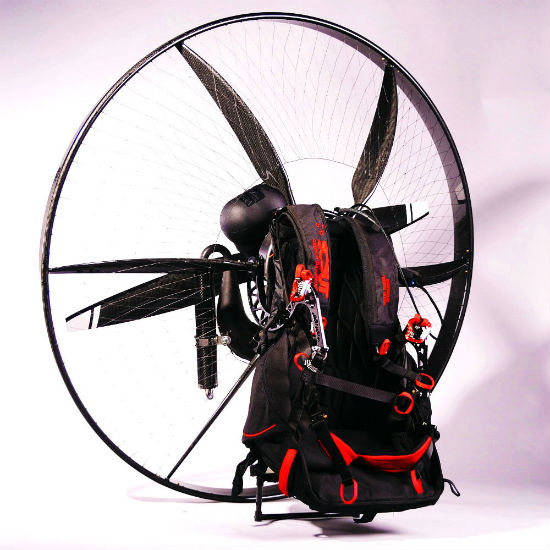carbon fiber backpack aircraft