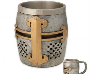 Crusader Mug – Join this mug on its quest for the Holy Ale.