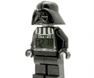 Star Wars Darth Vader Lego Alarm Clock – Now you can wake up every morning to the deep soothing voice of Darth Vader…