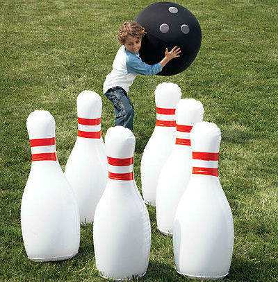 Giant Inflatable Bowling Set Shut Up And Take My Money