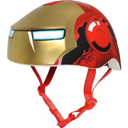 iron man bicycle helmet
