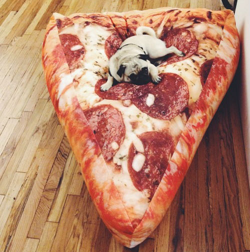 pizza slice inflatable chair