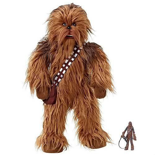 realistic chewbacca plush