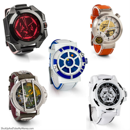 star wars designer watches