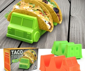 Prevent your taco from falling over and dumping all the fillings, that's what taco trucks are for!