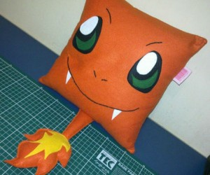 Pokemon Charmander Pillow – Who wouldn't want a pokepillow?