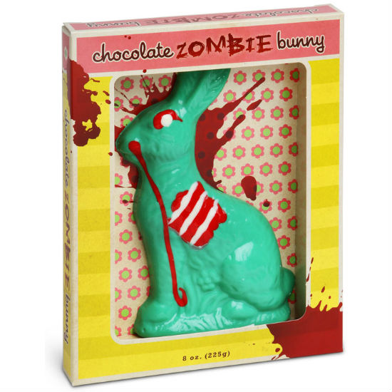 zombie chocolate easter bunny