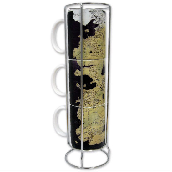 game fo thrones map of westeros mug set