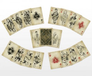 Game Of Thrones Vintage Playing Cards – A Lannister always places bets.
