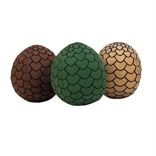 game of thrones plush eggs