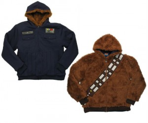 Star Wars Han Solo Chewbacca Reversible Jacket – The perfect jacket for your multiple personality disorder.