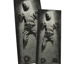 Star Wars Han Solo in Carbonite Rug – Fact: Jabba the Hut has great taste in interior decorating