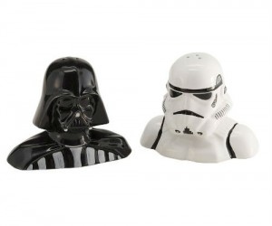 Star Wars Salt and Pepper Shakers – Rule the empire one meal at a time!