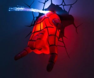 3D Spiderman Hand Night Light – Let the friendly neighborhood web-slinger protect you from bumps in the night!