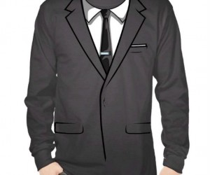Archer Suit Costume Shirt – Welcome to the Danger Zone!