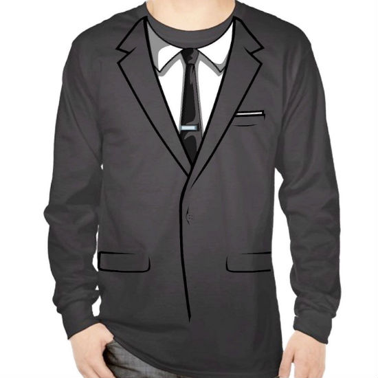 Archer suit costume shirt