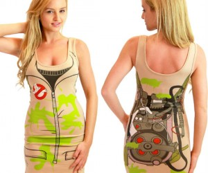 Ghostbusters Dress – When you're being haunted, Who you gonna call? Your girlfriend!