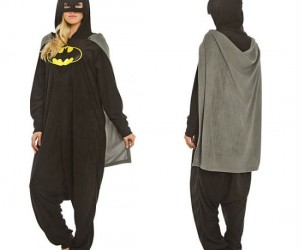 Batman Pajamas – This is what The Dark Knight wears to bed.