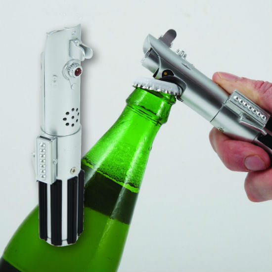 lightsaber bottle opener with sound
