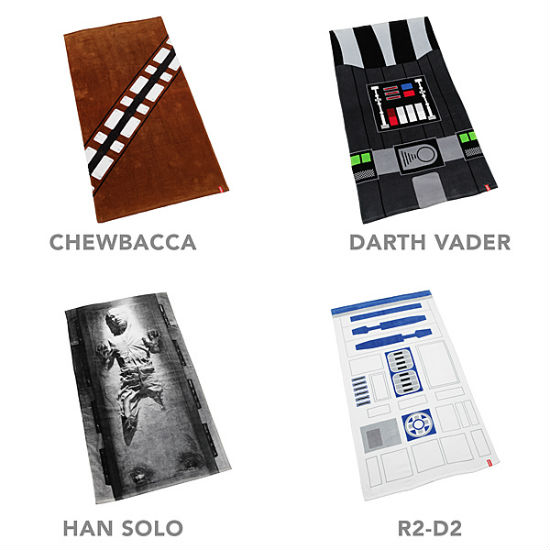 star wars towel