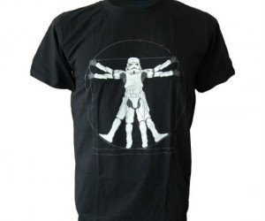Star Wars Vitruvian Man Stormtrooper Tee – The perfect shirt as well as the perfect man in the eyes of the Empire