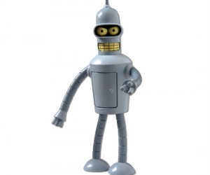 Futurama Talking Bender Action Figure – Buy my shiny metal ass!
