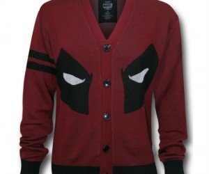 Deadpool Cardigan – This is one cardigan with a whole lot of attitude!