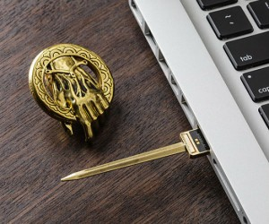 Game of Thrones USB Drives – A Lannister always saves his docs