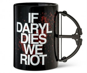 If Daryl Dies We Riot Crossbow Mug – Can you handle it?