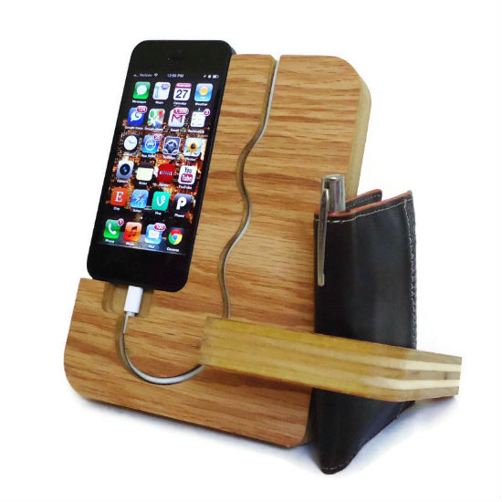 wooden iphone docking station shut up and take my money. Black Bedroom Furniture Sets. Home Design Ideas