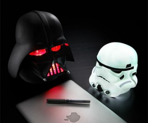 Star Wars Helmet Lamps – Sometimes The Dark Side can be full of light.