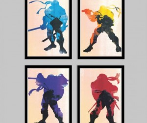 TMNT Poster Set – There's nothing like adding a little Turtle Power to your living room
