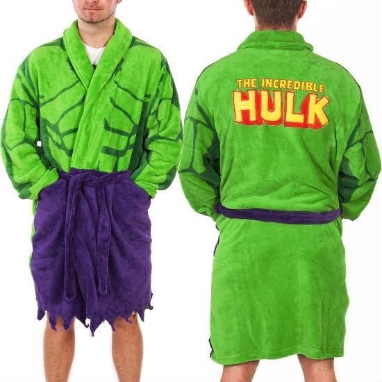 the incredible hulk bath robe