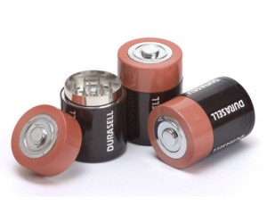You may not be able to find a battery when you need one, but you will be able to find your grinder!