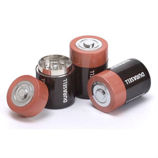D cell battery herb grinder