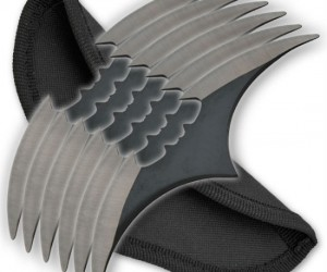 Batman 6 Piece Throwing Knife Set – I can think of 6 good reasons why you'd want to buy this.