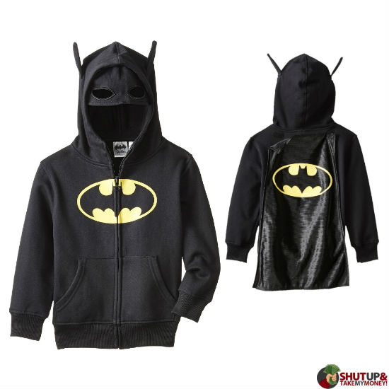 Batman Costume Hoodie  sc 1 st  Shut Up And Take My Money & 25 Greatest Batman Products That Any Fan Would Love
