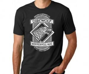 GoT Direwolf Winterfell Ale Tee – The best ale in all of Westeros!